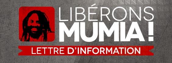 POUR LA LIBÉRATION DE MUMIA ABU JAMAL : LA LUTTE CONTINUE !