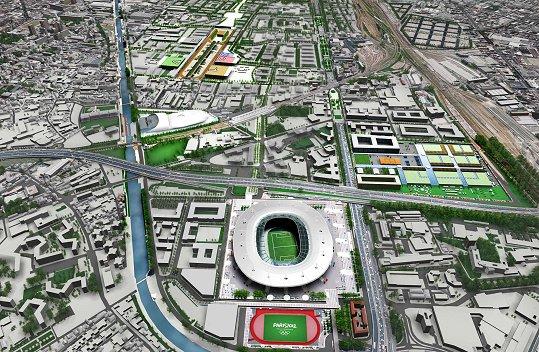 Jop 2024 le site de saint denis accueillera bien la for Piscine publique paris