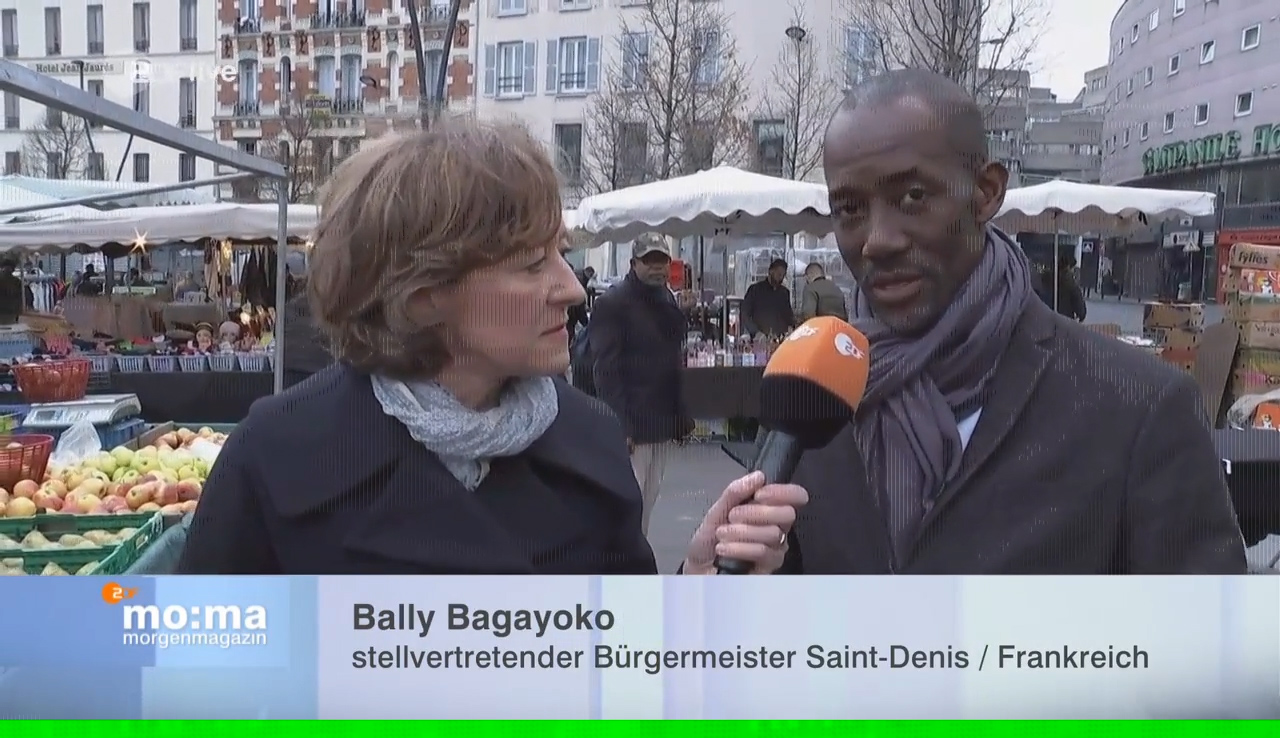 L'Europe En Question Avec La Chaîne Allemande  ZDF……Bally BAGAYOKO