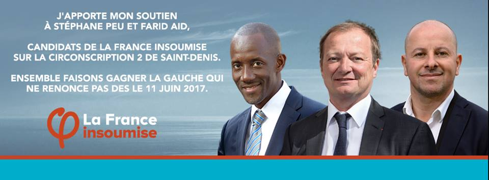 """Législatives circonscription 2 Saint-Denis : """"nous avons la confirmation du constat, nous avons un programme et nous avons désormais un couple de candidats sur la circonscription 2 avec Stéphane PEU et Farid AID"""" Bally BAGAYOKO"""