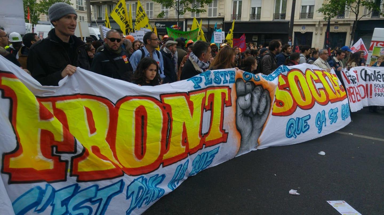 [# La lutte est sans relâche contre l'entreprise Macron :  Déclaration du#FrontSocial. Bally Bagayoko]