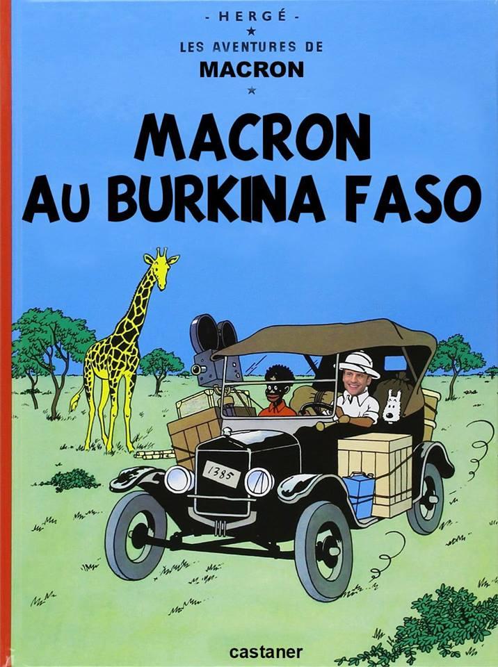 [#Un président de la République Française ne devrait pas se comporter de la sorte..Bally BAGAYOKO
