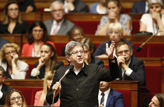 #Excellenteintervention deJean-Luc Melenchonsur la dette illégitime… Un grand bravo à lui pour la clarté de ses propos, qui honorent la gauche et la France Insoumise.Bally Bagayoko]