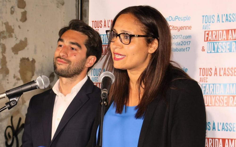 [# Communiqué de presse de mes amis Insoumis Farida Amrani et Rabaté Ulysse, tous deux candidats de la France Insoumise face à Emmanuel Valls. Bally BAGAYOKO]