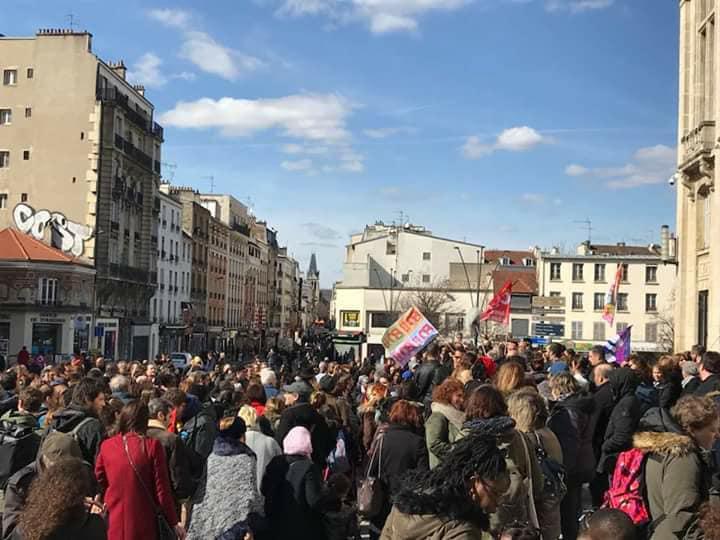 [#Tous unis pour dire : Stop à la violence à Saint-Denis. Bally BAGAYOKO]