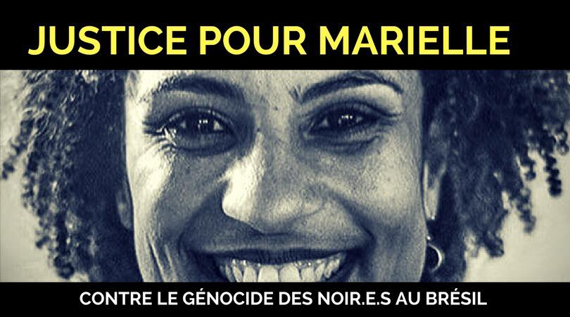 [#Exécution de Marielle FRANCO et de son chauffeur: Toutes mes condoléances aux familles, à leurs proches et honte aux auteurs de ces meurtres inqualifiables. Bally BAGAYOKO]