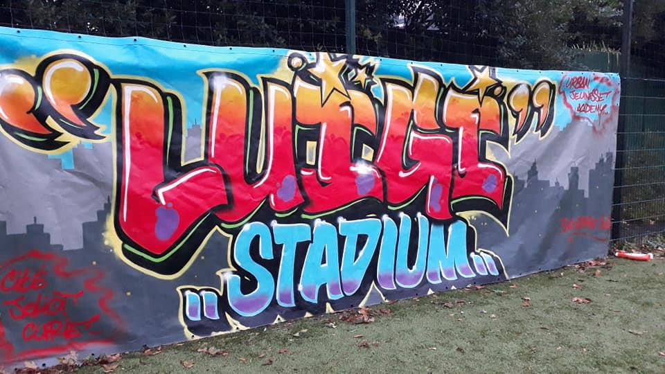[#Excellent hommage rendu à notre petit frère Luigi avec l'organisation d'un tournoi de football sur le nouveau terrain Luigi Stadium. Bally BAGAYOKO]