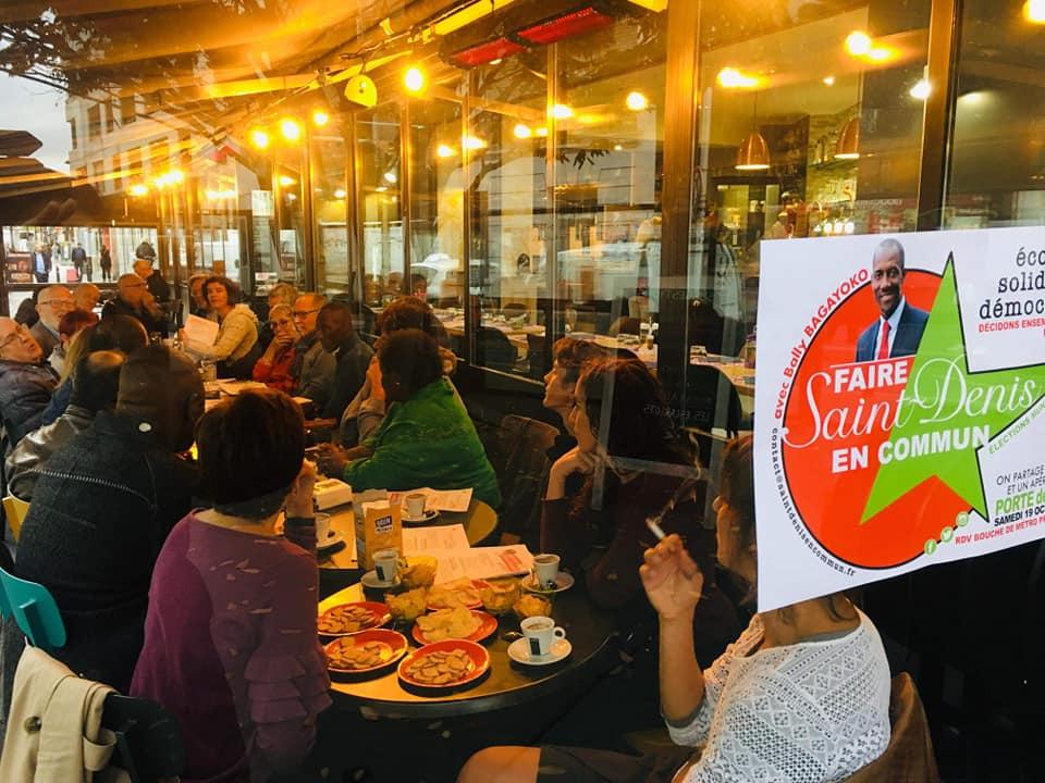Ecologie-démocratie : Faire Saint-Denis En Commun en débat !
