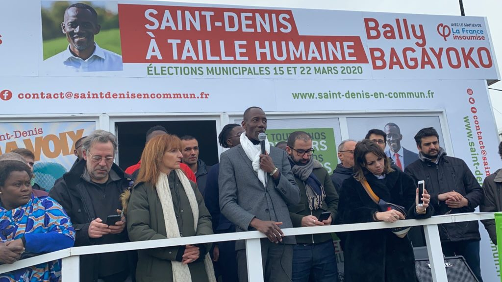 Inauguration local campagne Faire SaintDenis En Commun