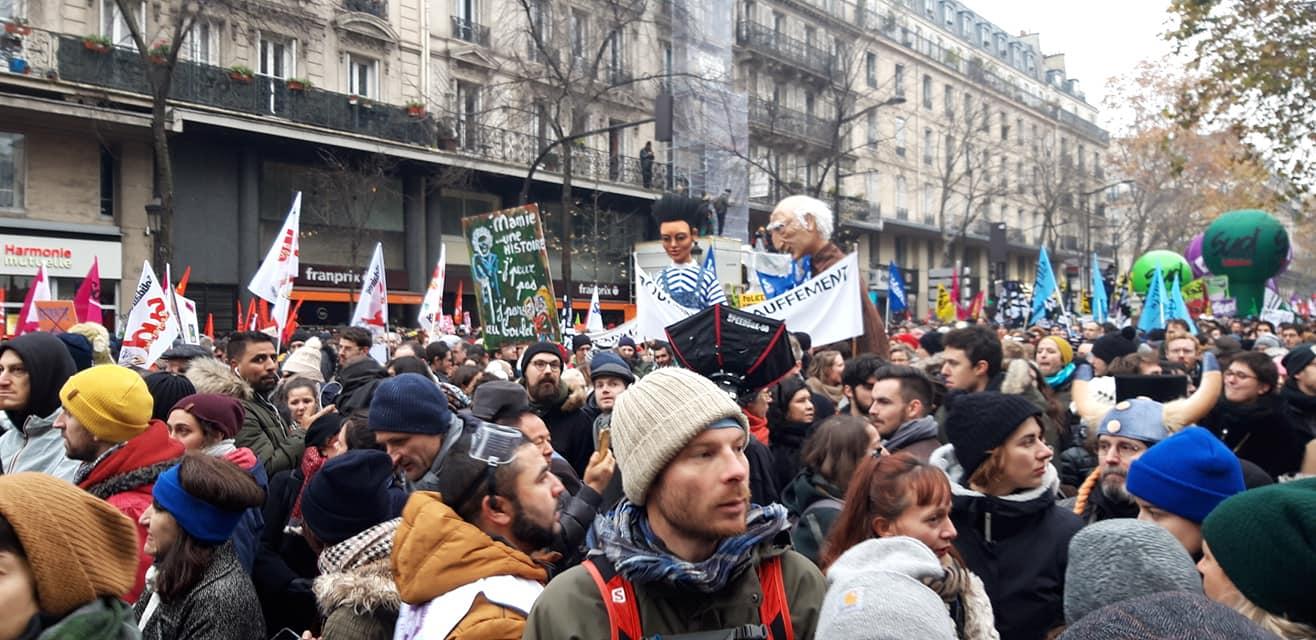 Mobilisation exceptionnelle contre la réforme des retraites !
