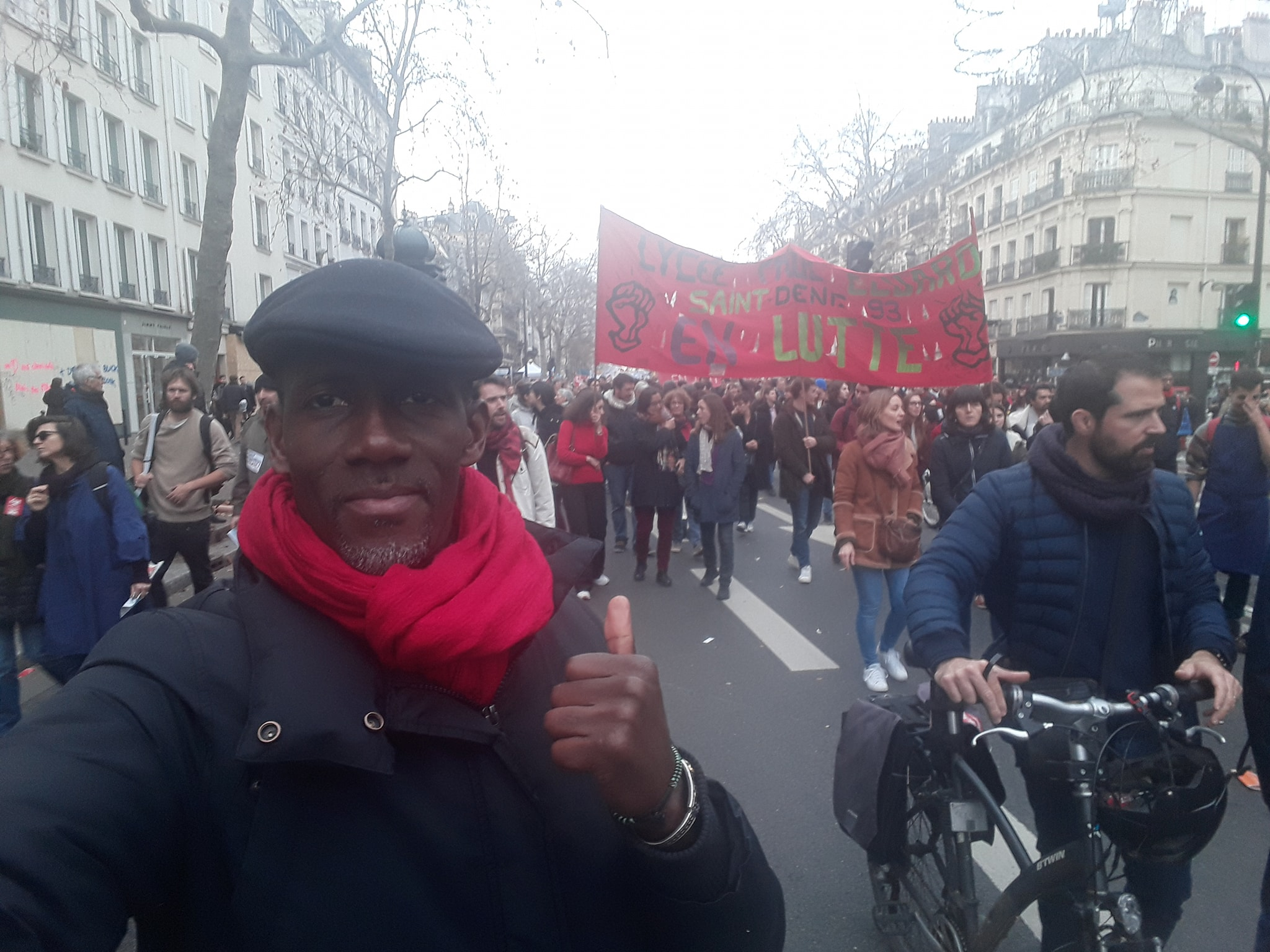 Mobilisation contre la réforme des retraites macron à Paris !