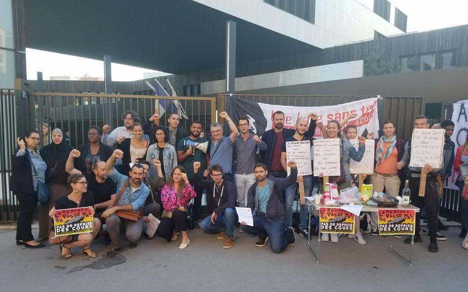 Solidarité avec les Enseignants du Lycée Angela Davis Saint-Denis !